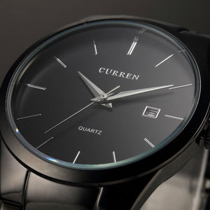 CURREN Simplistic Quartz Automatic Matte Men's Watch
