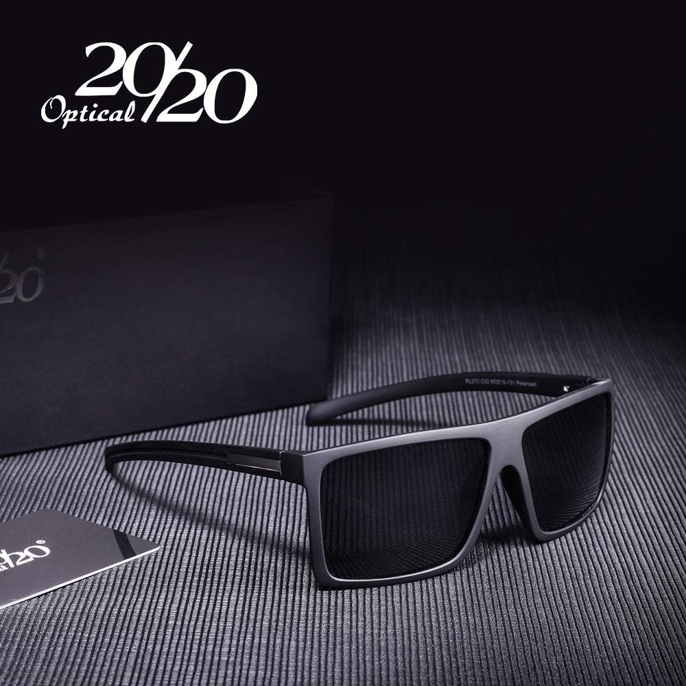 20/20 Men's Classic Square Sunglasses - Frames Are Forever