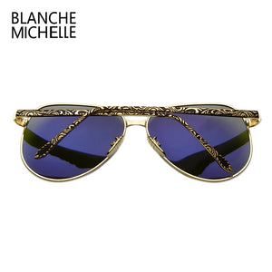 "Blanche Michelle Women's ""Pretty Fly"" Pilot Polarized Sunglasses - Frames Are Forever"