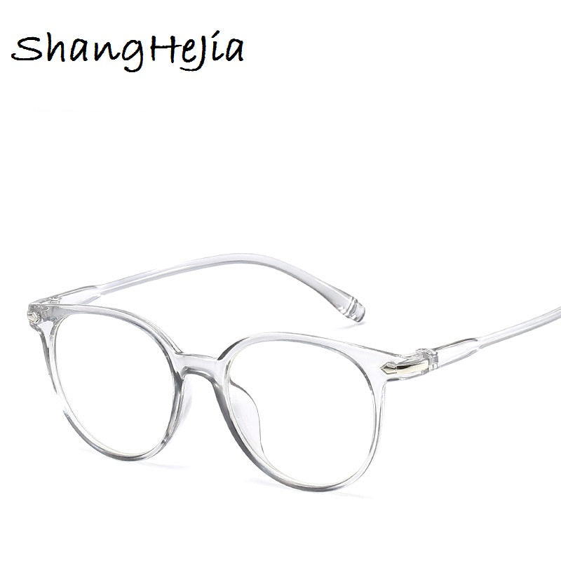 2018 Women's Fashion Eyeglasses Round Clear Lens