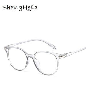 2018 Women's Fashion Eyeglasses Round Clear Lens - Frames Are Forever