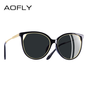AOFLY BRAND 2018 Designer Cat Eye Rhinestone Temple Sunglasses - Frames Are Forever