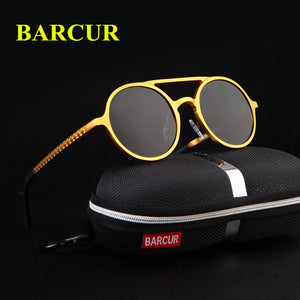 "BARCUR Men's Retro "" Mr Wavy ""Sunglasses - Frames Are Forever"