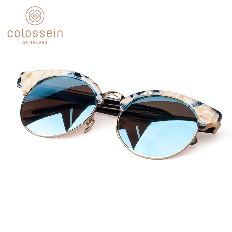 "COLOSSEIN Vintage ""The Cool"" Polarized Unisex Sunglasses"
