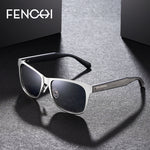 "FENCHI Men's ""Fast Lane"" Square Sunglasses - Frames Are Forever"