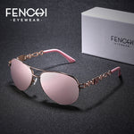 "FENCHI Women's ""Flyy"" Designer Aviator Sunglasses - Frames Are Forever"