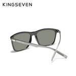 "KINGSEVEN Men's ""Frosty"" Aluminum Sunglasses"