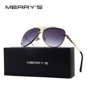 "MERRY'S Unisex ""Flight Life"" Pilot Sunglasses - Frames Are Forever"