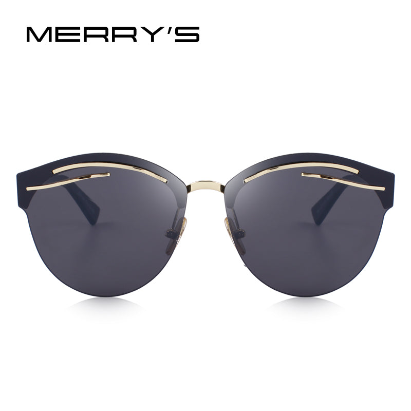 "MERRY'S Women's Classic ""Meow"" Cat Eye Sunglasses - Frames Are Forever"