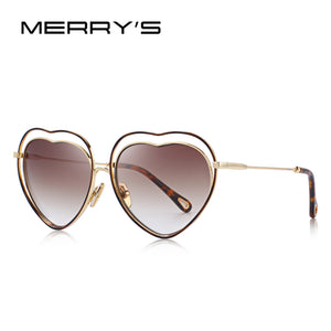 "MERRY'S Women's ""Love"" Heart Frame Sunglasses - Frames Are Forever"