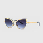 ROYAL GIRL Women's Alloy Cat Eye Sunglasses