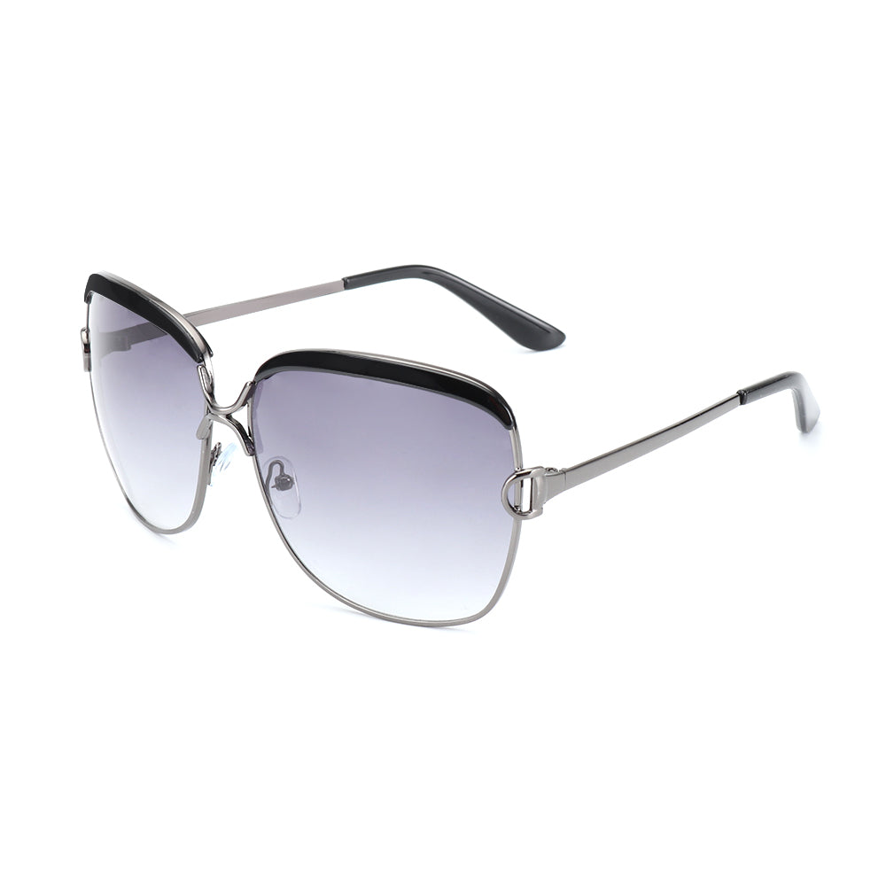 "ROYAL GIRL Women's ""Ocean View"" Gold Frame Sunglasses - Frames Are Forever"