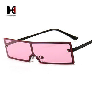 SHAUNA Women's Rectangle Sunglasses - Frames Are Forever
