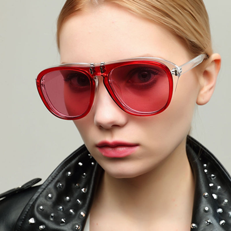 "Women's ""Fierce"" Flip Out Sunglasses - Frames Are Forever"