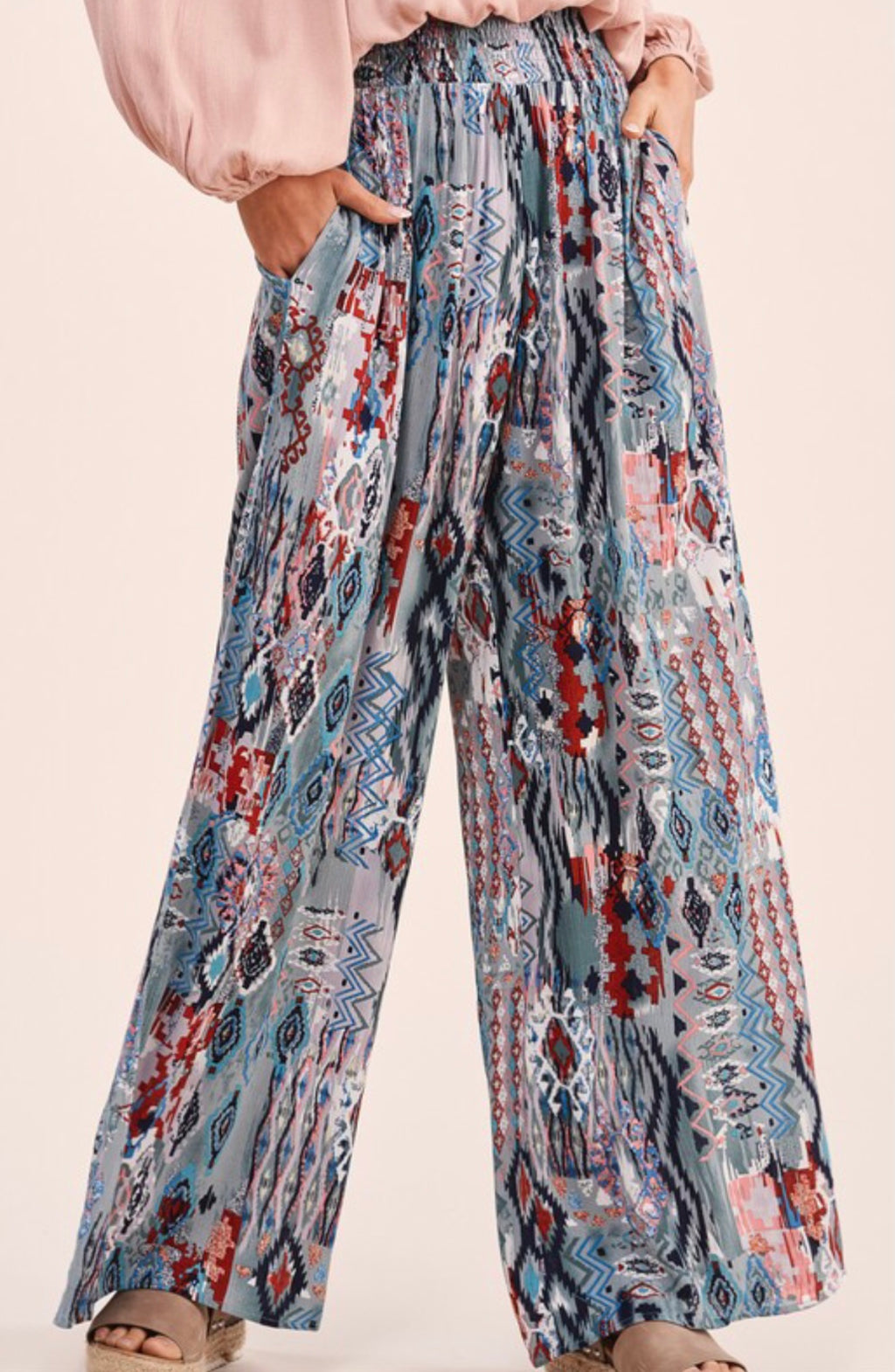 Wild About You Sage Boho Pants