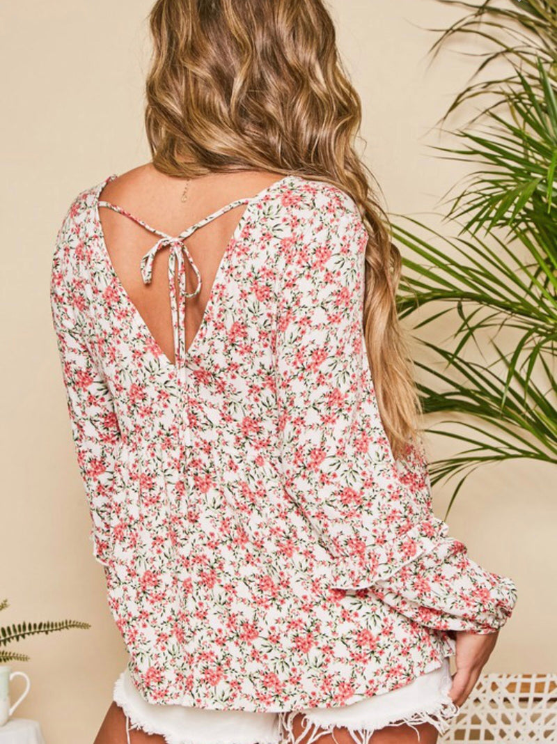 Perfectly Yours Floral Top