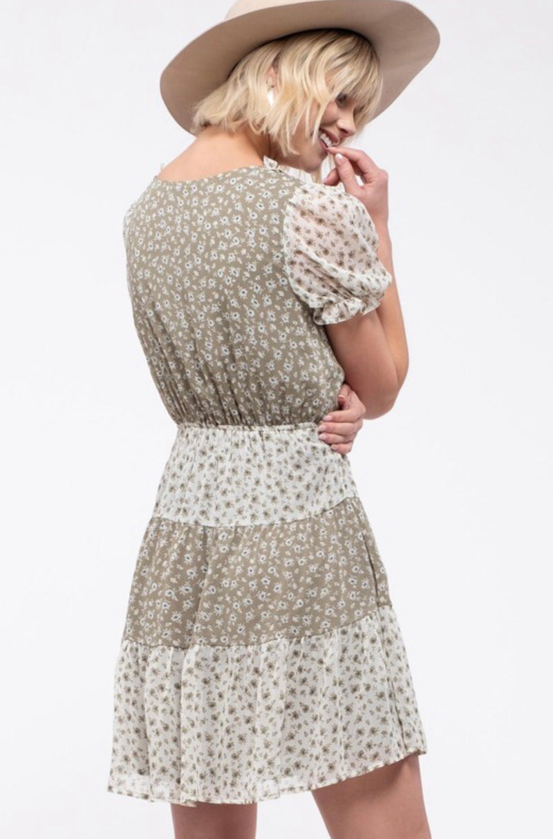 Borrowed Time Floral Dress