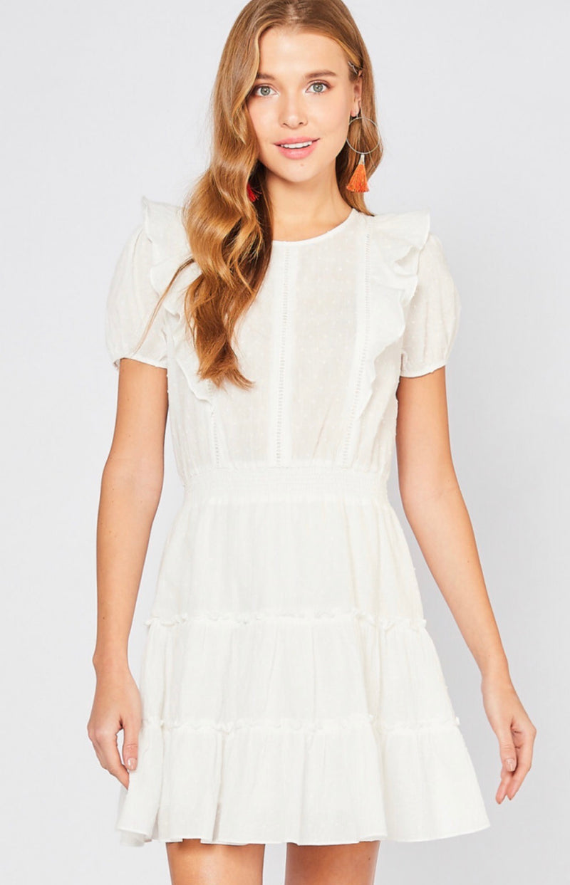 My New Love White Dress