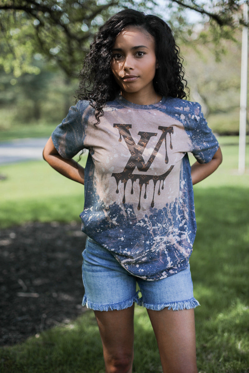Louis Acid Washed Tee