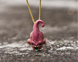 Dragon Ball - Kid Buu Premium Necklace (Gold and Silver) - Aniflux