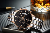 NIBOSI - Stainless Steel Luxury Watches - Aniflux
