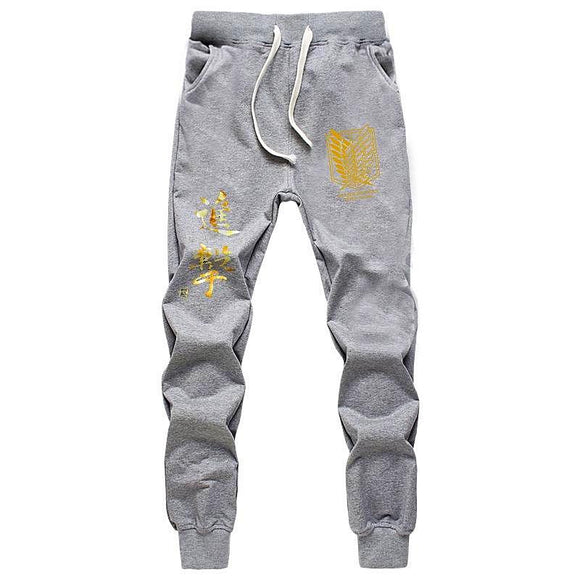 Attack on Titan Shingeki no Kyojin Joggers - Aniflux