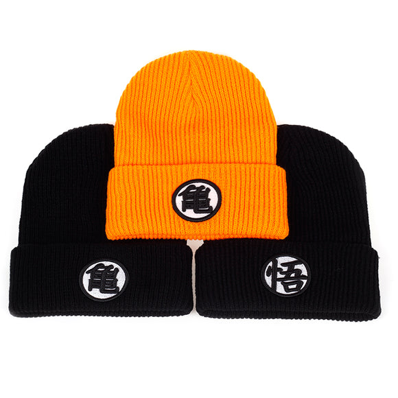 2017 3 style High quality Dragon ball Z Goku knit hat Beanies Winter warm hat Casual Men women Hip hop Autumn Winter cap hats - Aniflux