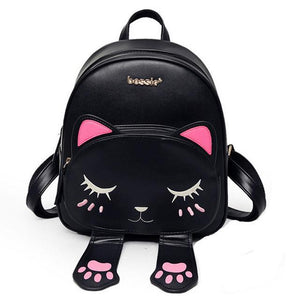Cute Cat Backpack - For Women - Aniflux