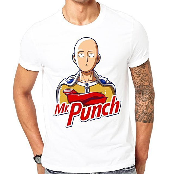 One Punch Man - Mr. Punch T-shirts - Aniflux