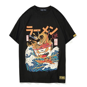 Aelfric Eden  - The Great Ramen Japanese T-Shirts - Aniflux