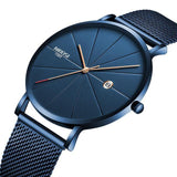 NIBOSI - Stainless Steel Ultra Thin Luxury Watches - Aniflux