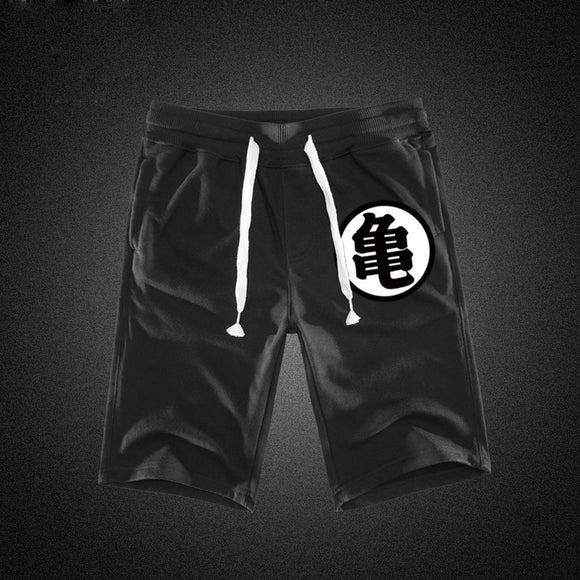 Dragon Ball - Goku's & Master Roshi's Kanji Colors Shorts Jogger - Aniflux