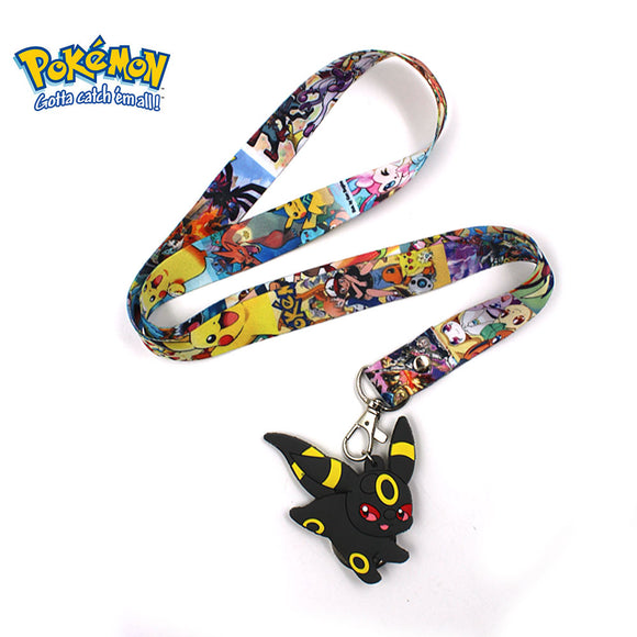 Pokemon - Cell Phone Rope with Keychain - Aniflux