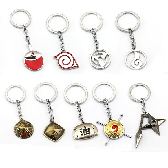 Naruto - Symbols Keychain Collection - Aniflux