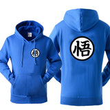Dragon Ball - Goku's Kanji Hoodies Sweatshirts Solid Colors - Aniflux