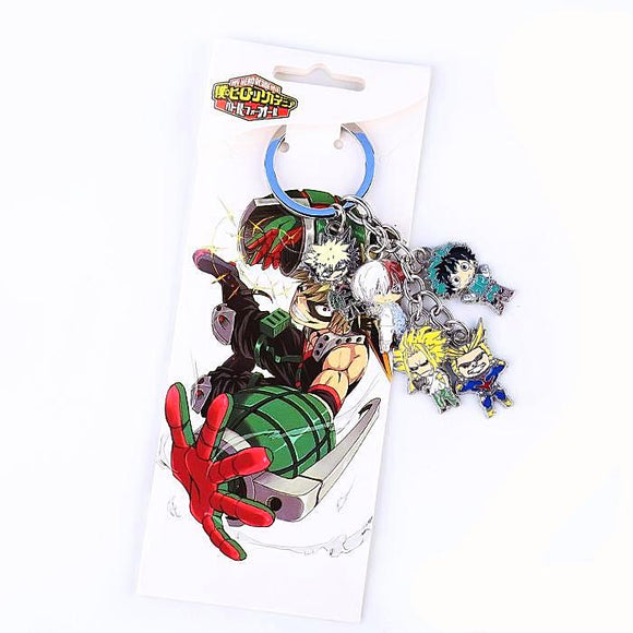 My Hero Academia - 5pcs set Keychain - Aniflux