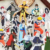 Naruto - 20 Piece Waterproof Vinyl Stickers (Set-1) - Aniflux