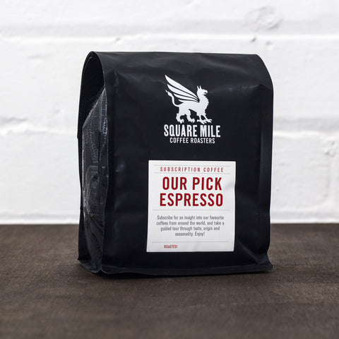 Prepaid Our Pick Espresso Subscription Monthly