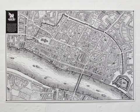 Square Mile Map - 2