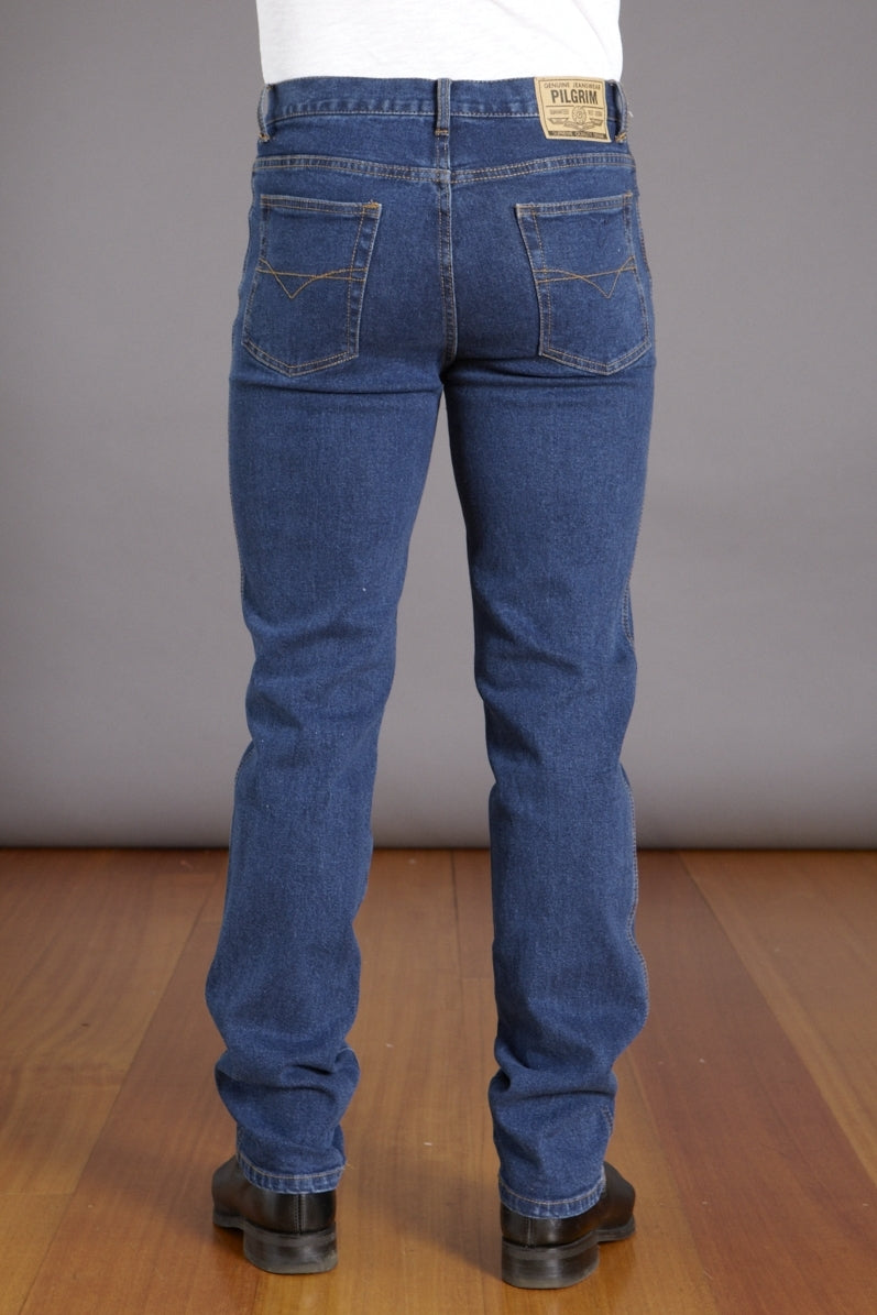 Pilgrim Stonewash Stretch Jean - Mens