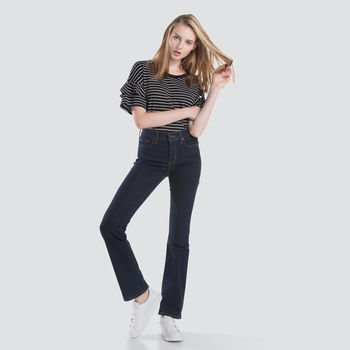 Levis 315 Shaping Bootcut Splash Blue - Womens