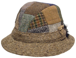 Hanna Patch Tweed Country Hat