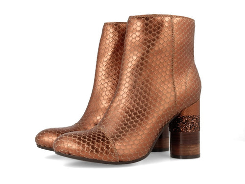 Gioseppo Margareta Copper Leather Boot