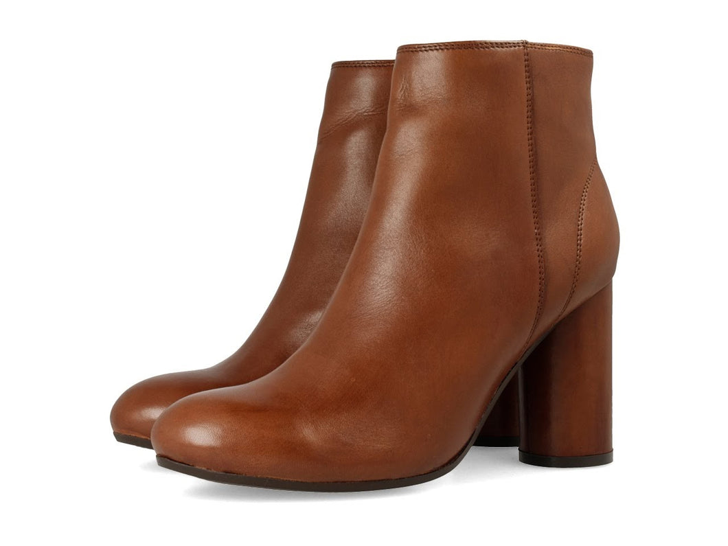 Gioseppo Helga Tan Leather Boot