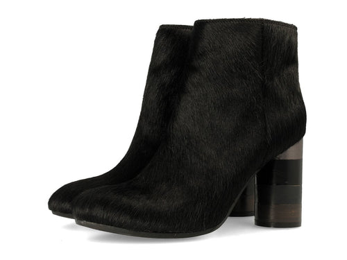 Gioseppo Amalia Black Cow Hide Boot