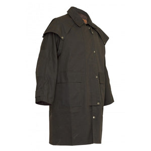 Balranald 3/4 Length Coat Oilskin