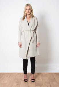 Natural Pale Fire Coat