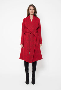 Red Gentle Fawn Coat