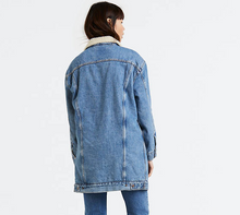 Levis Lengthened Sherpa Trucker