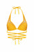 MAI MIA Bikini Top S / MARIGOLD CUT OUT STRING KINI TOP - SHEEN